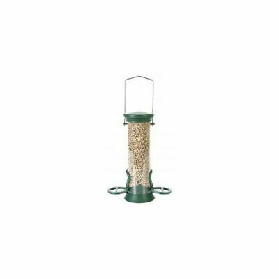 Cj Challenger Plastic Seed Feeder Green - Accessories - Wild Bird - Feeders