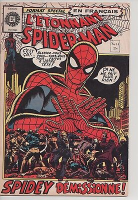 SPIDER-MAN #14 french comic français EDITIONS HERITAGE