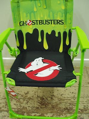Ghostbusters Folding Deck CHIDRENS Chair Hiking Fishing Outdoor Chair Seat KIDS