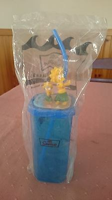 The Simpsons - Seaside Tumbler Lisa and Maggie Simpson collectable