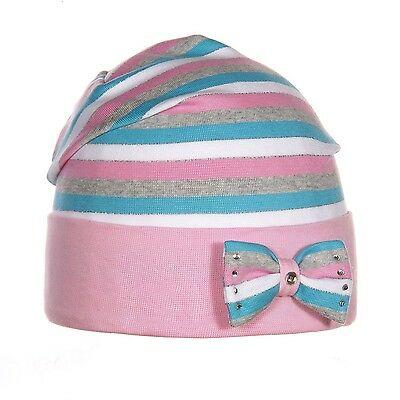 GIRLS kids baby hats caps size 3-5 years SPRING/ cotton M148 BRAND NEW!!