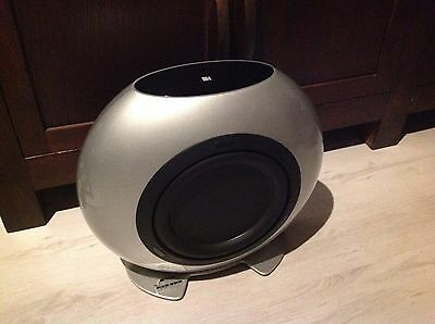 KEF HTB2 powered subwoofer from KEF KHT 3005 High Gloss silver