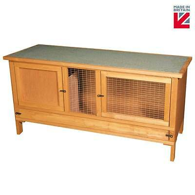 Rabbit Guinea Pig Chinchilla Hutch Cage Fully Assembled