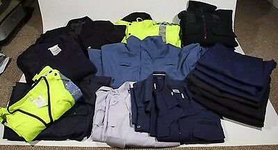 Ex Police Job Lot of Clothing Hi-Vis Jackets Fleeces Trousers Wholesale Security