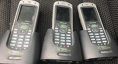 3 X Honeywell Barcode Scanner Dolphin 7600 Wifi Bluetooth