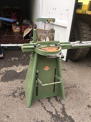 Morse Guillotine And Alpha M1 Underpinned Picture Framing Equipment