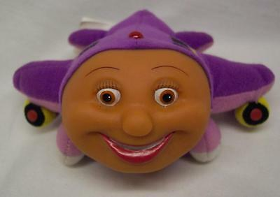 "Jay Jay the Jet Plane PURPLE TRACY 5"" Plush STUFFED ANIMAL Toy"