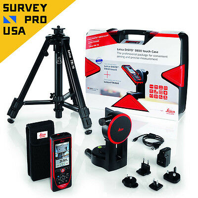 New Leica DISTO D810  Laser Distance Meter Measure 200m Pro Kit Package 806648