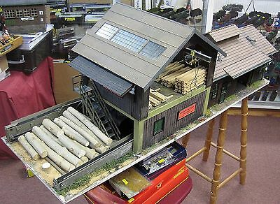G Scale piko and  Hand Built Sawmill