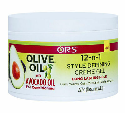 Ors 12-In-1 Style Defining Creme Gel ( Long Lasting Hold ) 227G