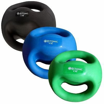 BYTOMIC DOUBLE GRIP MEDICINE BALL -  Fitness Exercise Gym weight, body workout