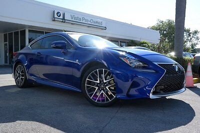 2015 Lexus RC350  2015 Coupe Used Premium Unleaded V-6 3.5 L/211 8-Speed Automatic w/OD RWD Blue
