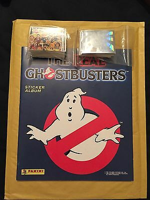Ghostbusters Sticker Album Mint Complete Loose Stickers