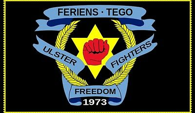 Ulster freedom fighters flag