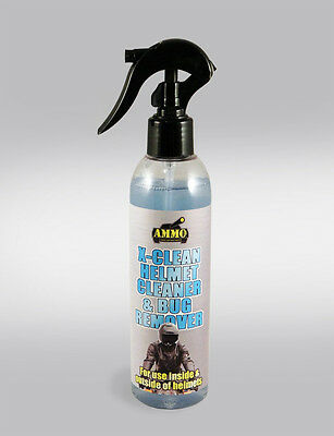 Ammo X-Clean Helmet Cleaner/bug Remover - Cleans The Outside/inside Of Helmet!