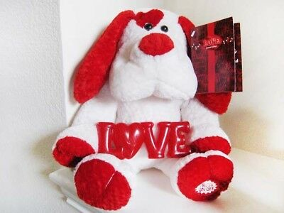 "Dan Dee Limited Edition 14"" (Seated) Valentine 'Sing-Along' Love Puppy"