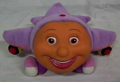 "Jay Jay the Jet Plane PURPLE TRACY 7"" Plush STUFFED ANIMAL Toy"