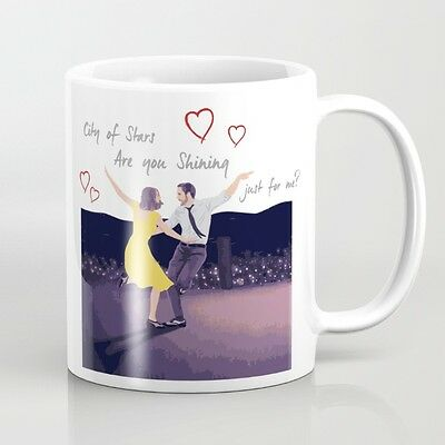 La La Land - Emma Stone -  Ryan Gosling - Tazza - Mug - Idea Regalo