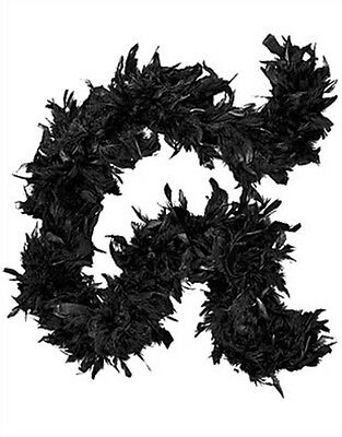 "Deluxe Large Black 72"" Costume Accessory Feather Boa"