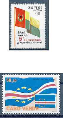 Cabo Verde - 1980 /1997 - National / Flags - MNH / ( ** )