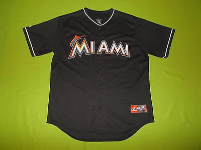 Jersey MIAMI MARLINS (L) MAJESTIC 2012/2017 PERFECT !!! MLB away MADE IN USA