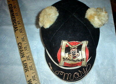 Very Vintage Glenover Henry Pollack wool cap - Mickey Mouse!