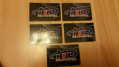 Satellite Viewing Cards  HD(5 cards)