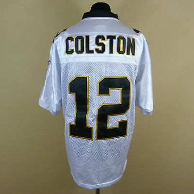 Reebok Premier NFL Jersey NEW ORLEANS Saints Marques Colston White Shirt