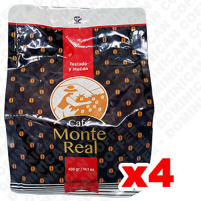 MONTE REAL 1,600 (4 Units) GROUND COFFEE Light Chocolate flavor