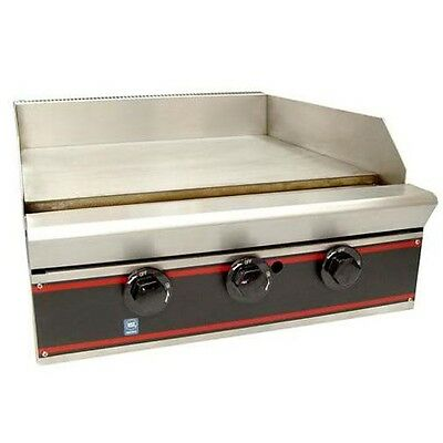 "24"" Gas Flat Top Griddle - 2 Burners"