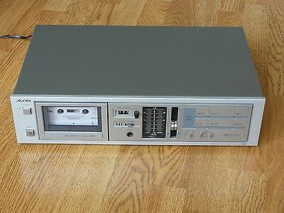 Aurex (Toshiba) PC-G2  Stereo Tape Cassette Deck, Mint Condition