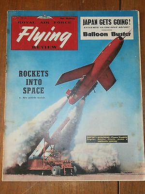 Royal Air Force Flying Review magazine-July 1956