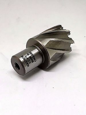 "Drillco 1-1/4"" 1"" High Speed Depth of Cut Annular Cutter 3/4"" Shank. 91SE216"