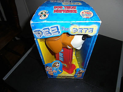 """Pez for Pets Pez Dispenser for Dog Treats 8"""" Tall New/Unopened with Treats"""