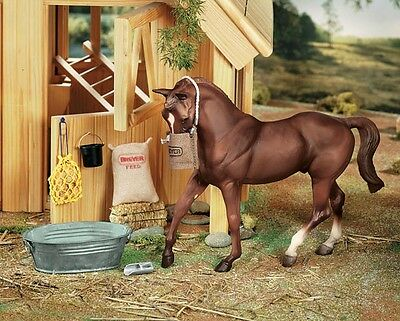 Breyer Horses Traditional Size Stable Accessories Feed Set #2486 Horse Barn Tool