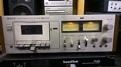 Sony Stereo Deck Cassette TC-206SD(Dolby System) fully working