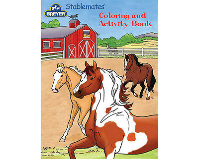 Breyer Horses Stablemates Coloring & Activity Book #4160 For Horse Crazy Kids