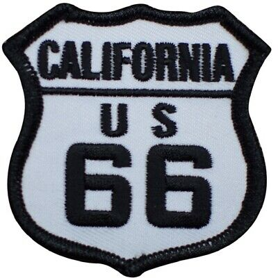 California Patch - Route 66  (Iron on)