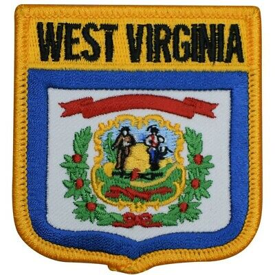 West Virginia Patch (Iron on)