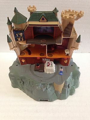 Working Harry Potter Hogwarts School Electronic Castle Playset Base Set Works