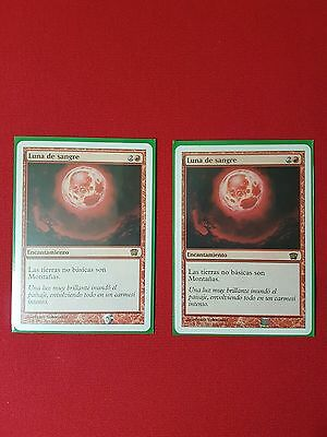 mtg Magic The Gathering 2 x Luna de Sangre.