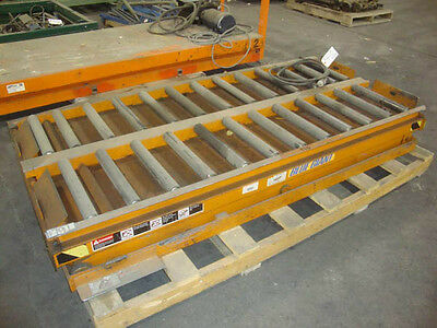 "Blue Giant 36"" x 78"" Roll top scissor lift"
