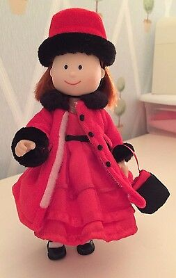 Madeline Doll and Red Dress Outfit