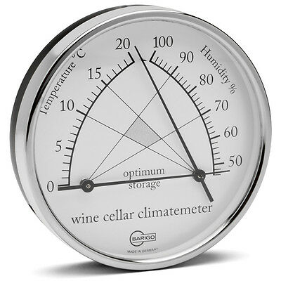 NEW Barigo Wine Cellar Climatemeter