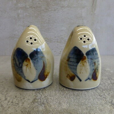 Sanson Pottery Salt & Pepper Shakers New Zealand Studio Pottery Manawatu NZ