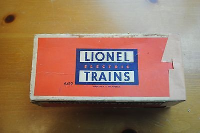 Lionel 6419 DL&W Work Caboose Box Only