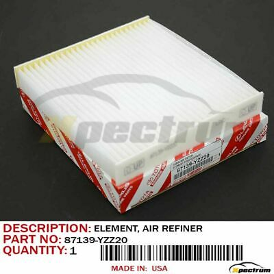 Toyota Lexus 87139-Yzz20 / 87139-Yzz08 Factory Original Oem A/c Air Cabin Filter