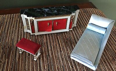 Vintage Ideal Petite Princess Small Dollhouse Furniture Lot