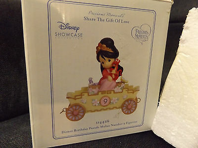 disney showcase precious moments 114426 mulan birthday