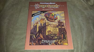 Dungeons and Dragons Dragonlance Drungar (castles) - Softcover - 1990 - TSR